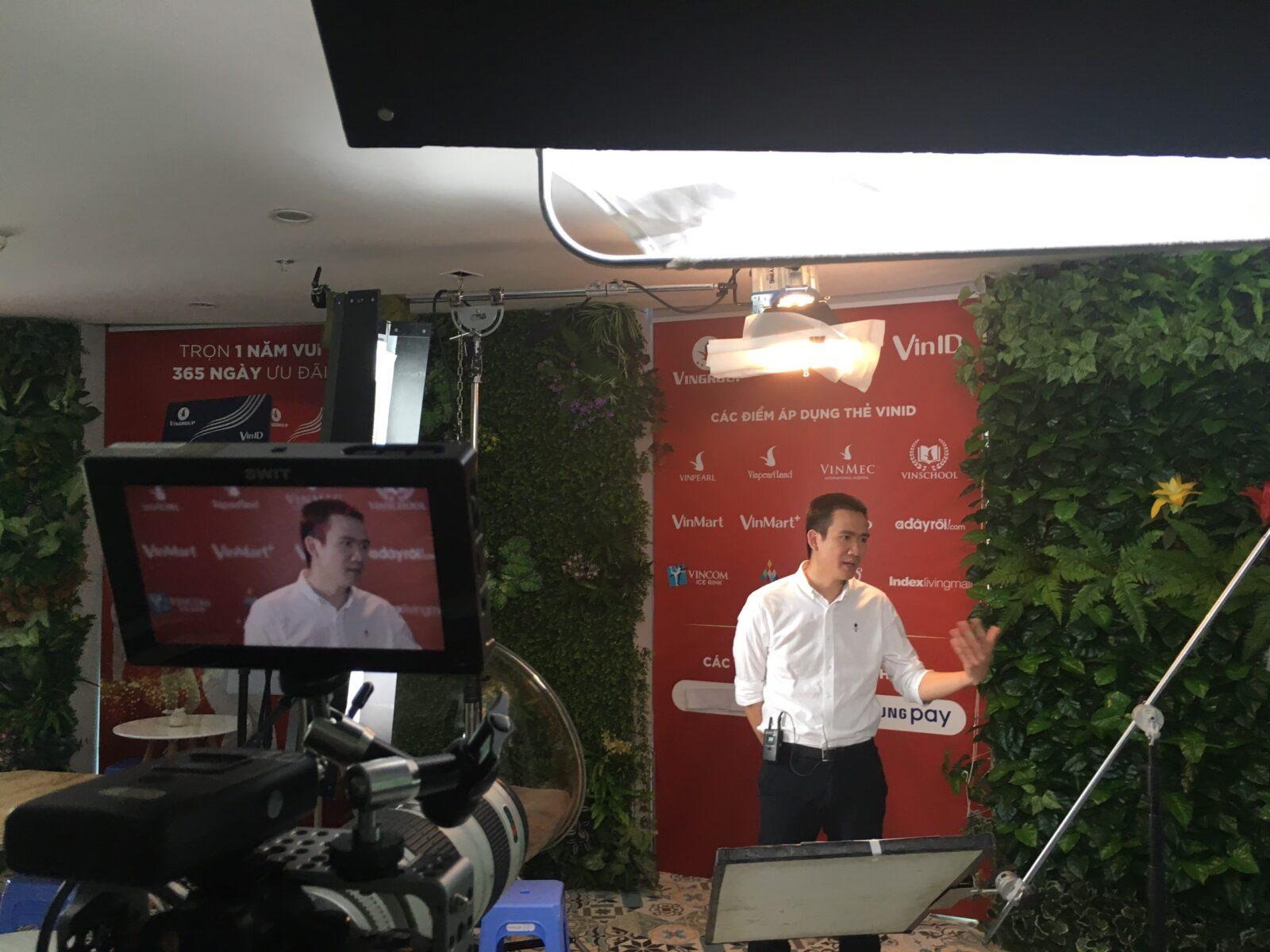 Dịch vụ quay video chuyên nghiệp với những thiết bị hiện đại