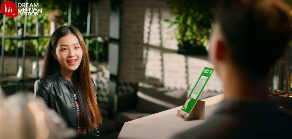 Một cảnh quay TVC quảng cáo