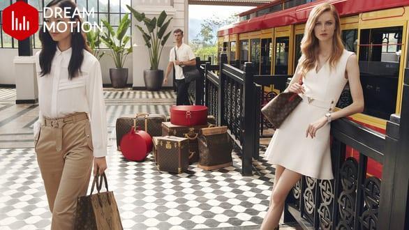 Hội An, vịnh Hạ Long, hoa sen Việt vào quảng cáo của Louis Vuitton ...