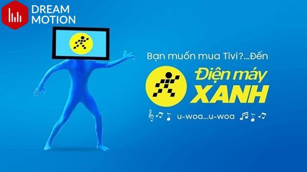 Điện Máy Xanh đã khéo léo lồng ghép bài hát bắt tai trong Video Viral Marketing